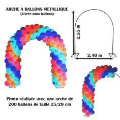 Grande Arche à Ballons en Métal