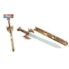 Epée de Moyen-Age avec fourreau - 60 cm