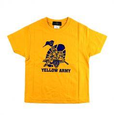 T-Shirt Jaune Yellow Army Enfant - Taille au Choix