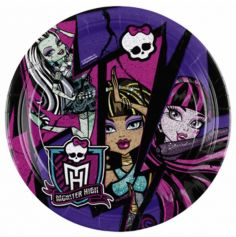 Assiettes Anniversaire Monster High