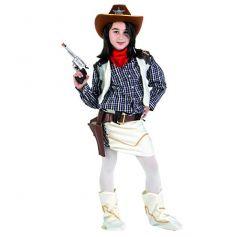 Déguisement de Petite Sheriff