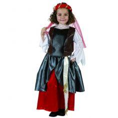 déguisement médiéval fille