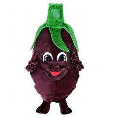 Mascotte Légume Aubergine