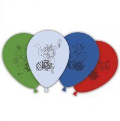 8 Ballons de Baudruche Avengers Mighty