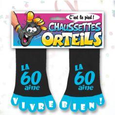 Chaussette à Orteil Anniversaire 60 ans