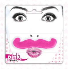 Moustache Pink Party - Rose