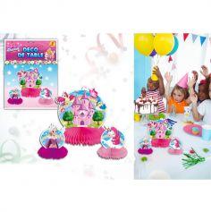 3 Centres de table décoratifs P'tite Princesse