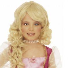"Perruque Fille ""Barbara"" - Blonde"