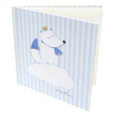 Livre d'Or - Baby Shower - Loup Bleu | jourdefete.com