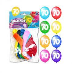 Ballons de Baudruche Anniversaire 70 ans