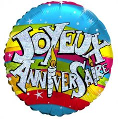 "Ballon Hélium ""Joyeux Anniversaire"""