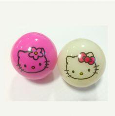 Balle Hello Kitty Lumineuse Fluo