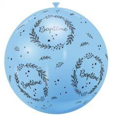 ballon-geant-bapteme-couronne-fleurs | jourdefete.com