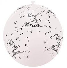 Ballon Géant Vive Les Mariés - Coloris au Choix
