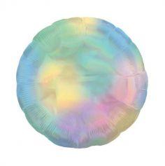 Ballon Hélium Arc-en-ciel pastel - Etoile ou Rond