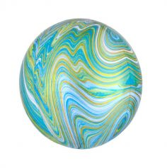 Ballon Orbz Marbre - 38 cm - Couleur au Choix