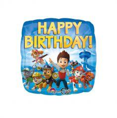 "Ballon ""Happy Birthday"" Pat' Patrouille"
