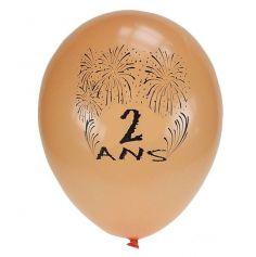 Ballons de Baudruche Anniversaire 2 ans