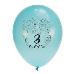 Ballons de Baudruche Anniversaire 3 ans
