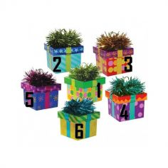 Poids à Ballon - Boîte Cadeau Colorée - Coloris au choix