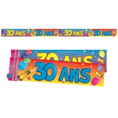 """Bannière """"30 ans"""""""
