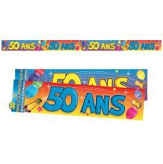 """Bannière """"50 ans"""""""