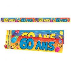 """Bannière """"60 ans"""""""