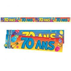 """Bannière """"70 ans"""""""