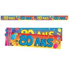 Bannière d'Anniversaire - 80 ans