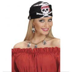 Bandana Tête de Mort - Pirate
