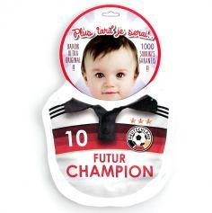 "Bavoir Football ""Futur Champion"" - Allemagne"