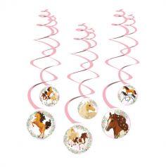 8deco en spirales beaux chevaux | jourdefete.com