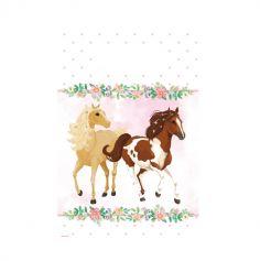 8 sacs cadeaux collection beaux chevaux | jourdefete.com