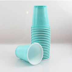 "Gobelets ""Beer Pong"" x20 - Turquoise - 50cl"