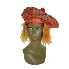 beret-ecossais-tartan-perruque | jourdefete.com