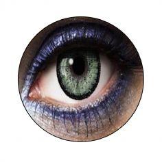 """Lentilles """"Big Eyes Green"""" - 1 an (sans correction)"""