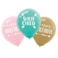 ballons-bohème-anniversaire | jourdefete.com