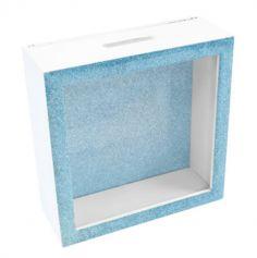 Boîte à Messages Pailletée - Bleu | jourdefete.com