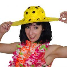 chapeau fleurs de tournesol
