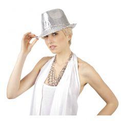 Chapeau Borsalino Popstar Argenté