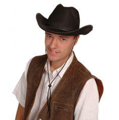 Chapeau Texan Noir