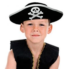 Chapeau de petit pirate