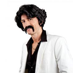 perruque et moustache chuck norris