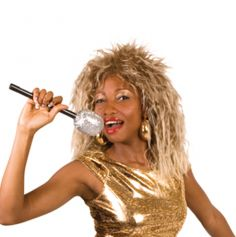 Perruque Tina Turner