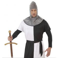 Cagoule Médiévale en Cotte de Maille - Adulte