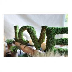 """Set 4 lettres """"Love"""" mousse 20 cm"""