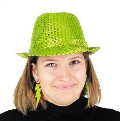 boucles d'oreilles flash néon pour adulte | jourdefete.com