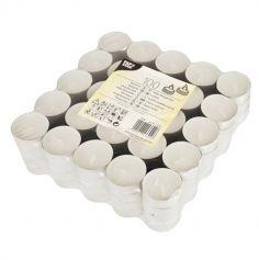 100 Bougies Chauffe-Plats - Blanc | jourdefete.com