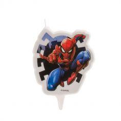 bougie-marvel-spiderman-anniversaire | jourdefete.com