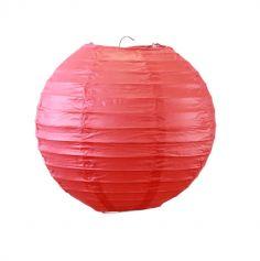 Lanterne en Papier Boule Rouge - ø 20 cm